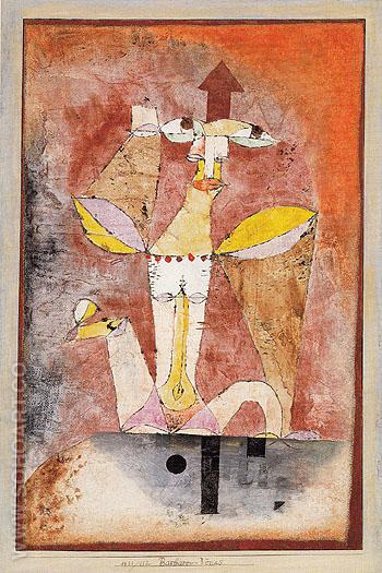 Barbarians Venus 1921 - Paul Klee reproduction oil painting