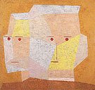 Two Heads 1932 - Paul Klee