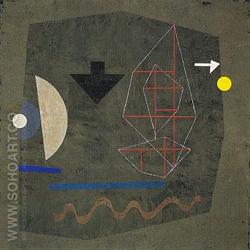 Possibilities at Sea 1932 - Paul Klee reproduction oil painting