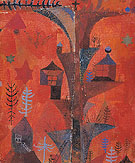 The Tree Of Houses 1918 - Paul Klee