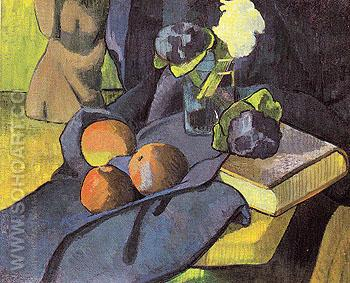 Still Life with Violets 1891 - Paul Serusier reproduction oil painting