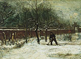 Winter 1885 - Vincent van Gogh reproduction oil painting