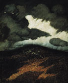 Storm Clouds Maine c1906 - Marsden Hartley reproduction oil painting