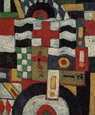 Military c1914 - Marsden Hartley reproduction oil painting