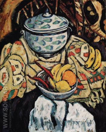 Still Life 1912 - Marsden Hartley reproduction oil painting