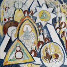 Portrait of Berlin 1913 - Marsden Hartley reproduction oil painting