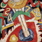 Military 1913 - Marsden Hartley reproduction oil painting