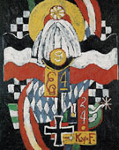 Painting No47 Berlin c1914 - Marsden Hartley reproduction oil painting