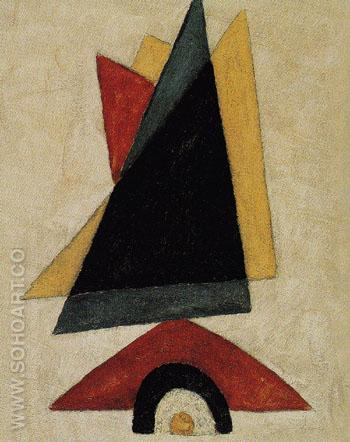 Provincetown Abstraction 1916 - Marsden Hartley reproduction oil painting