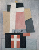 Elsa 1917 - Marsden Hartley reproduction oil painting