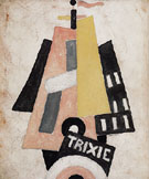 Trixie C1916 - Marsden Hartley reproduction oil painting