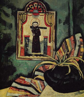 El Santo 1919 - Marsden Hartley reproduction oil painting