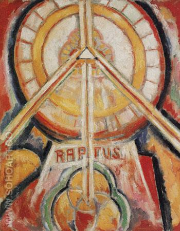 Raptus c1913 - Marsden Hartley reproduction oil painting