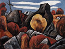 Mountains in Stone Dogtown 1931 - Marsden Hartley reproduction oil painting