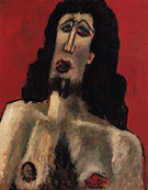 Christ c1941 - Marsden Hartley reproduction oil painting