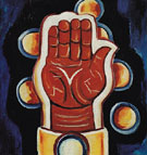 Morgenrot 1932 - Marsden Hartley reproduction oil painting