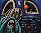 Eight Bells Folly Memorial for Hart Crane 1933 - Marsden Hartley reproduction oil painting