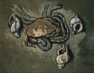 Crab Rope Seashells 1936 - Marsden Hartley reproduction oil painting