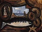 Sea View New England 1934 - Marsden Hartley reproduction oil painting