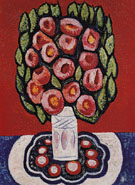 Flowers Roses from Hispania 1936 - Marsden Hartley reproduction oil painting
