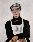 Marie Ste Esprit c1938 - Marsden Hartley reproduction oil painting