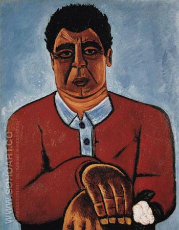 Cleophas Master of the Gilda Grey c1938 - Marsden Hartley reproduction oil painting