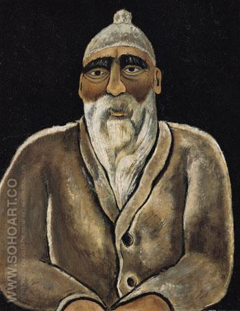 Portrait of Albert Pinkham Ryder 1938 - Marsden Hartley reproduction oil painting