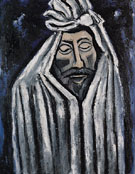 The Last Look of John Domme 1940 - Marsden Hartley reproduction oil painting