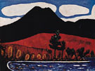 Mount Katahdin Autumn No2 c1939 - Marsden Hartley reproduction oil painting