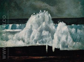 The Wave 1940 - Marsden Hartley reproduction oil painting