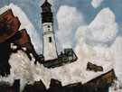 The Lighthouse c1940 - Marsden Hartley