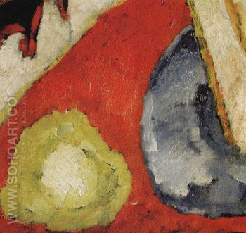 Detail of Military - Marsden Hartley reproduction oil painting