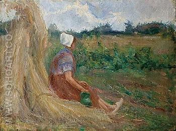 Midday Rest - Jozef Israels reproduction oil painting