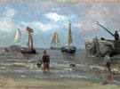 Return of the Fisherboats - Jozef Israels