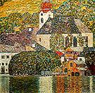 Church in Unterach 1916 - Gustav Klimt