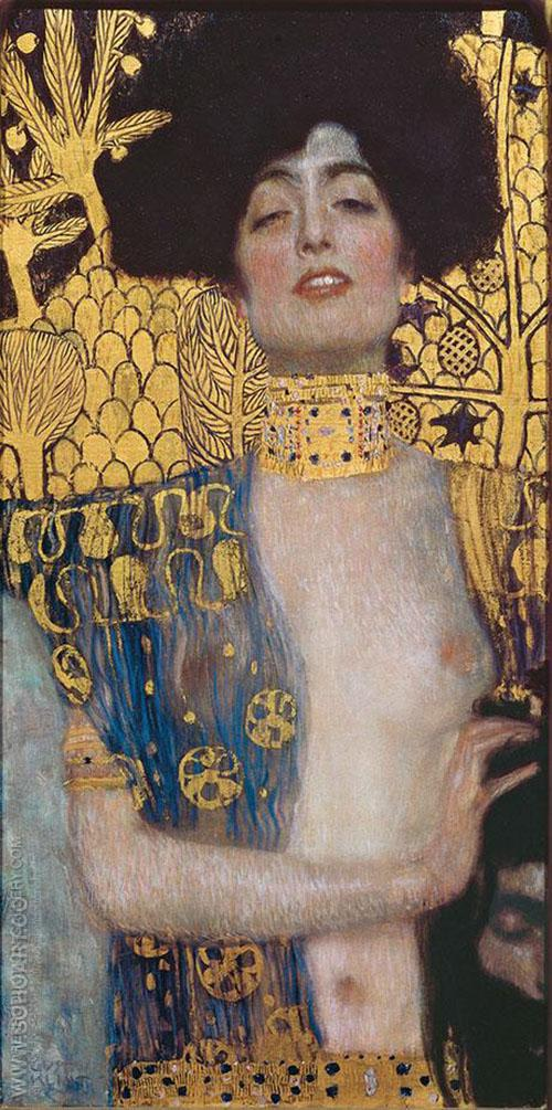 Judith 1 1901 - Gustav Klimt reproduction oil painting