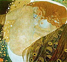 Danae 1907 - Gustav Klimt reproduction oil painting