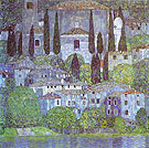 The Church in Cassone - Gustav Klimt reproduction oil painting