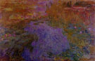 Water Lily Pond c1917 - Claude Monet reproduction oil painting