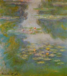 Water Lilies 1908 - Claude Monet reproduction oil painting