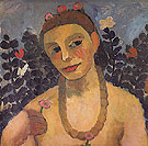 Self Portrait with Amber Necklace 1906 - Paula Modersohn-Becker