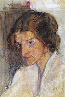 Self Portrait c1897 - Paula Modersohn-Becker