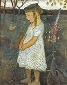 Elsbeth in the Brunjes Garden 1902 - Paula Modersohn-Becker