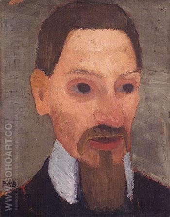 Rainer Maria Rilke 1906 - Paula Modersohn-Becker reproduction oil painting