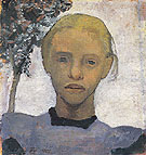 Head of Fair Girl 1901 - Paula Modersohn-Becker