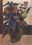 Still Life with Sunflowers 1907 - Paula Modersohn-Becker