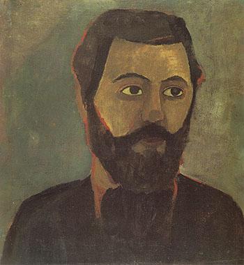 Werner Sombart 1906 - Paula Modersohn-Becker reproduction oil painting