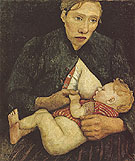 Nursing Mother 1903 - Paula Modersohn-Becker
