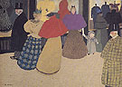 The Passers By 1897 - Felix Vallotton reproduction oil painting