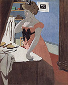 Misia at Her Dressing Table 1898 - Felix Vallotton reproduction oil painting